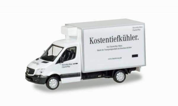 """Herpa 093323 - Mercedes-Benz Sprinter Kühlkoffer """"ChaterWay"""" - 1:87"""