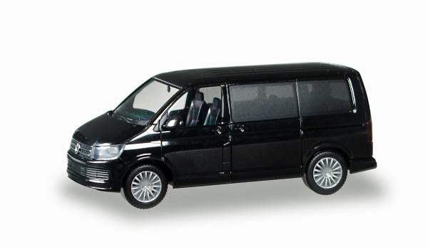 Herpa 028738 - VW T6 Multivan, brillantschwarz - 1:87