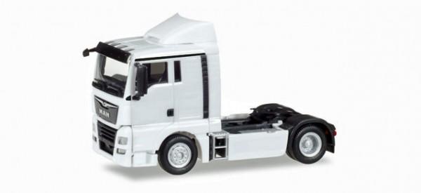 Herpa 308366 - MAN TGX XL Euro 6c Zugmaschine, weiß - 1:87