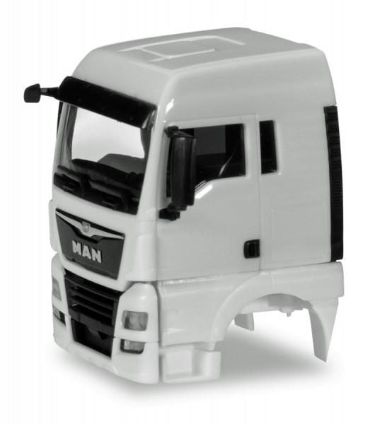 Herpa 084765 - Fahrerhaus MAN TGX XLX Euro 6c ohne Windleitblech Inhalt: 2 Stück - 1:87