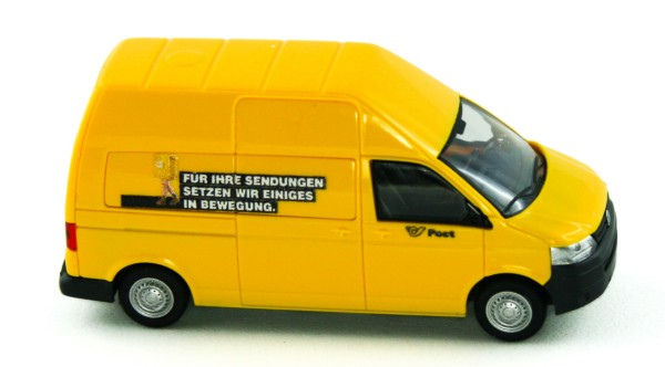 Rietze 31619 - VW T5 GP LR HD Kasten Post (AT) - 1:87