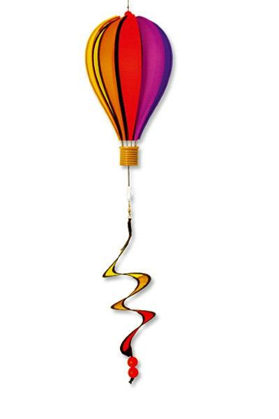 Colours in Motion - Windspiel Micro Balloon Twister - Ø17cm x 28cm + 35 cm