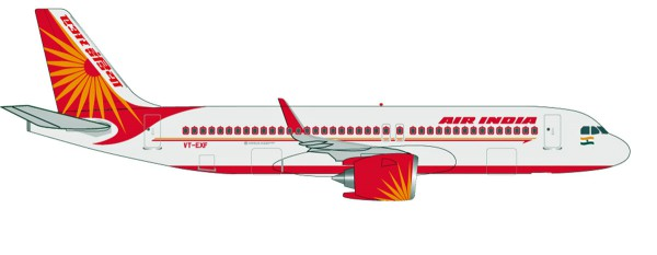 Herpa Wings 531177 - Air India Airbus A320neo - VT-EXF - 1:500