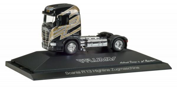 "Herpa 110891 - Scania R HL Zugmaschine ""Pflumm"" - 1:87"