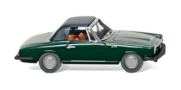 Wiking 018698 - Glas 1700 GT Cabrio geschl. - dunkelgrün - 1:87
