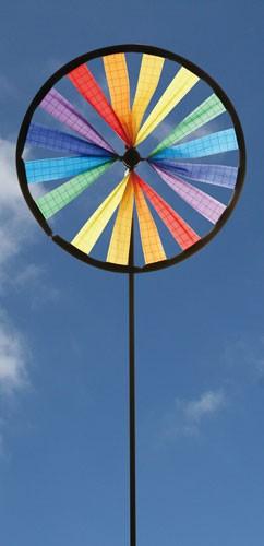 Invento-HQ Windspiel Magic Wheel Easy Rainbow (ø 16 x 45 cm)