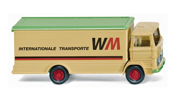 "Wiking 043601 - Koffer-Lkw (MB LP 1317) ""WM Internationale Transporte"" - 1:87"