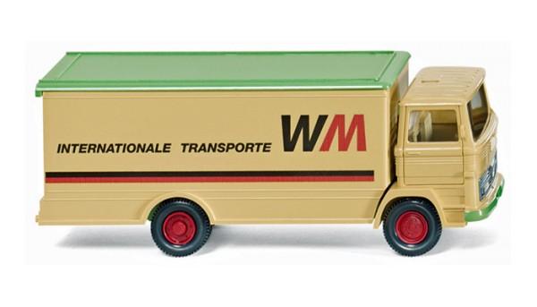 """Wiking 043601 - Koffer-Lkw (MB LP 1317) """"WM Internationale Transporte"""" - 1:87"""