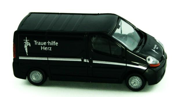 Rietze 51392 - Renault Trafic Trauerhilfe Herz-Filmwagen - 1:87