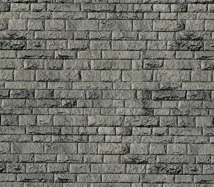 Vollmer 46052 - Mauerplatte Porphyr - Karton - H0 (6052) - Fläche: 0,031m²