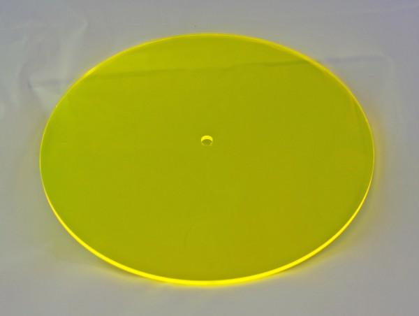 Lichtzauber Sonnenfänger - Scheibe groß, Ø 20 cm, gelb (Elliot 1019004)