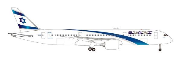 Herpa Wings 531214 - El Al Boeing 787-9 Dreamliner - 4X-EDA - 1:500