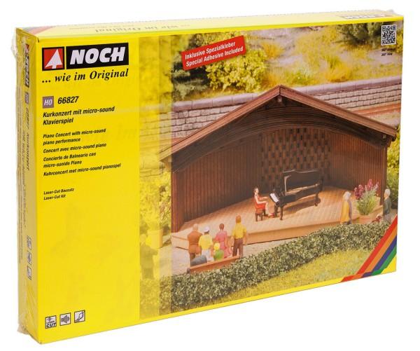 NOCH 66827 - Kurkonzert mit micro-sound Klavierspiel - H0