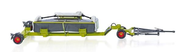 Wiking 077825 - Claas Direct Disc 520 mit Schneidwerkwagen zu Claas Häcksler Jaguar - 1:32