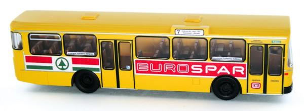 Rietze 74311 - Mercedes-Benz O 305 Stadtwerke Heilbronn - Spar - 1:87 - Bahn Edition Nr. 55