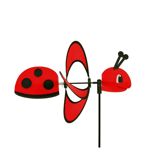 Colours in Motion - Windspiel Little Magic Ladybird - Ø 28 x 35 x 85 cm