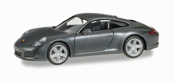 Herpa 038645 - Porsche 911 Carrera 4, achatgrau metallic - 1:87