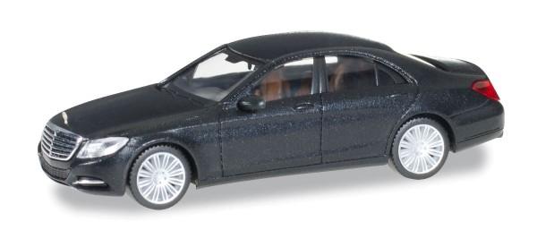 Herpa 038287-003 - Mercedes-Benz S-Klasse, obsidianschwarz metallic - 1:87