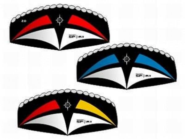 Elliot Lenkmatte - Sigma Sport 2.0 - R2F mit Controlbar - schwarz/weiß/blau