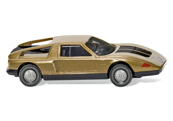 Wiking 023001 - MB C 111 - gold-metallic - 1:87