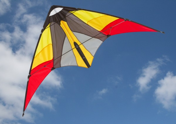 Invento-HQ - Cirrus Ruby - Leichtwind-Lenkdrachen (115 x 51 cm) - R2F