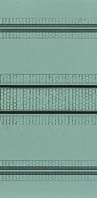 Kibri 34127 (4127) - Straßenplatte für DB und Portalkran - Fläche: 240cm² - H0