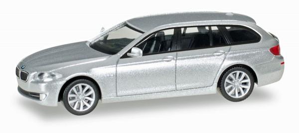 Herpa 034401-005 - BMW 5er™ Touring, glaciersilber metalllic - 1:87