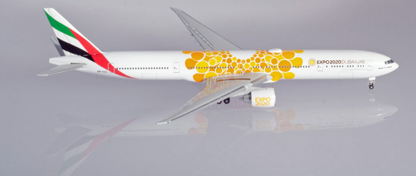 """Herpa Wings 533539 - Emirates Boeing 777-300ER Expo 2020 Dubai, """"Opportunity"""" Livery - A6-ECD - 1:50"""
