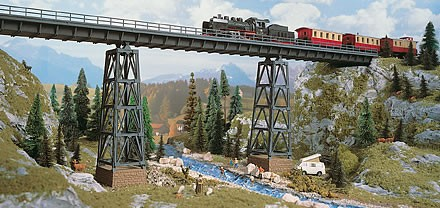 Vollmer 42550 - Kreuztalviadukt Halle - H0 (2550)