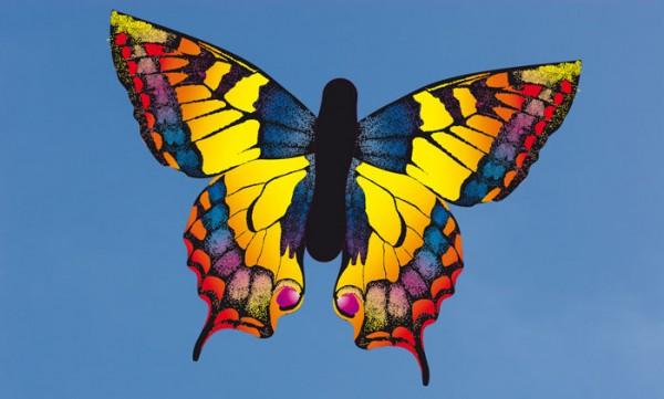 """Butterfly Kite Swallowtail """"L"""" - Einleiner von Invento-HQ (130 x 80 cm) - R2F"""