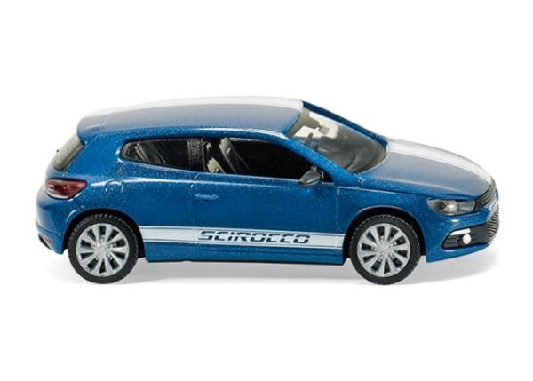Wiking 007303 - VW Scirocco - blau perleffect - 1:87