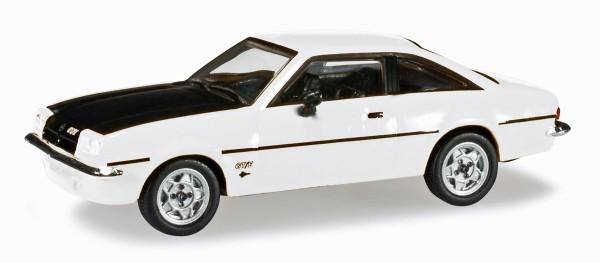 Herpa 024389-005 - Opel Manta B, weiß/schwarz - 1:87