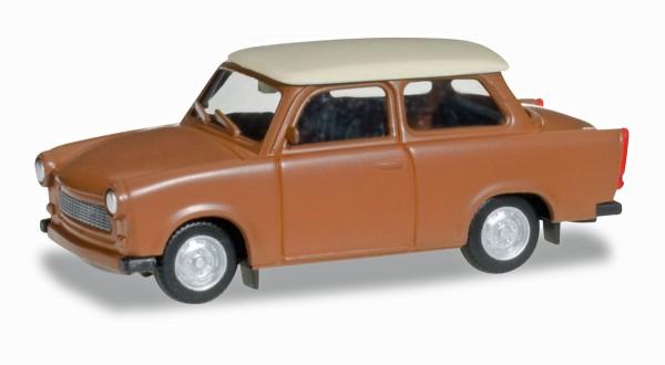 Herpa 020763-004 - Trabant 601 S, braun - 1:87