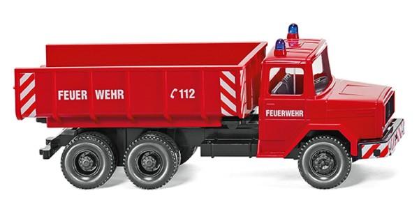 Wiking 062402 - Feuerwehr - Schuttwagen (Magirus Deutz) - 1:87