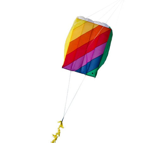 Invento-HQ Parafoil 5 Classic Rainbow - Einleiner (57 x 75 cm) - R2F