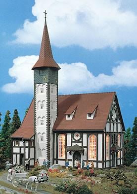 Vollmer 43768 - Fachwerkkirche Altbach - H0 (3768)