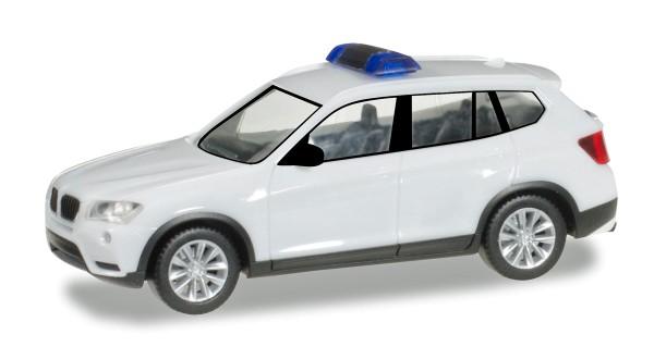 Herpa 013130 - Herpa MiniKit: BMW X3, weiß / unbedruckt - 1:87