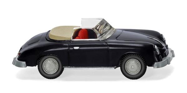 Wiking 016039 - Porsche 356 Cabrio - schwarz - 1:87