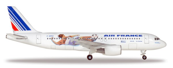 Herpa Wings 531405 - Air France Airbus A320 - France 1998: Netherlands / Italy - F-GFKU - 1:500