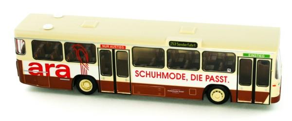 Rietze 72324 - MAN SL 200 Hüttebräucker - Ara Schuhmode - 1:87