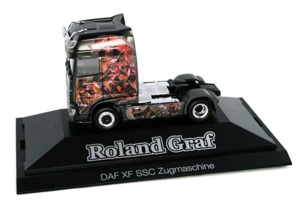 "Herpa 936590 - DAF XF SSC Euro 6 Zugmaschine ""Roland Graf"" - 1:87"