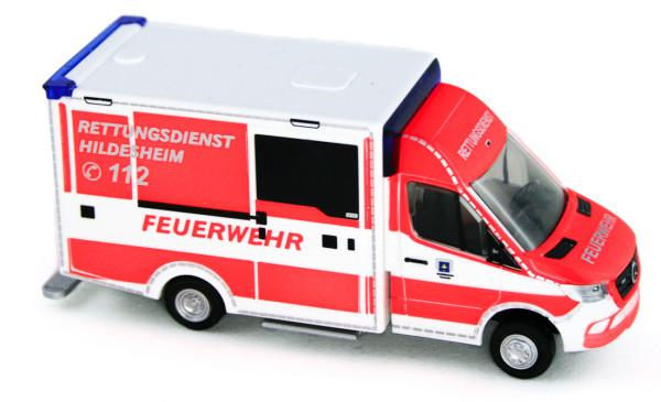 Rietze 76204 - WAS Design - RTW´18 Rettungsdienst Hildesheim - 1:87