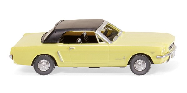 Wiking 020599 - Ford Mustang Cabriolet - sunlight-yellow - 1:87