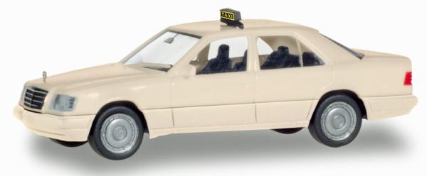 "Herpa Basic 094184 - Mercedes-Benz E-Klasse (W124) ""Taxi"" - 1:87"