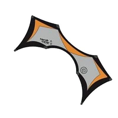 Dropkick 2.0, schwarz/grau/orange - Vierleiner von Elliot (209x81 cm) - R2F