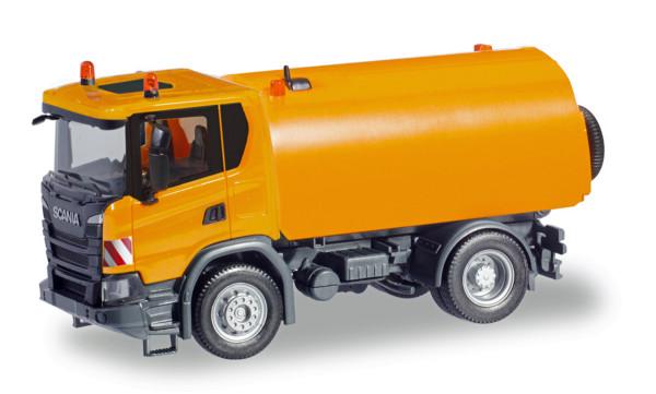 Herpa 310888 - Scania CG 17 Kehrfahrzeug, kommunalorange - 1:87