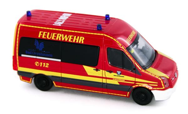 Rietze 53124 - Volkswagen Crafter 11 Feuerwehr Bad Oeynhausen - 1:87