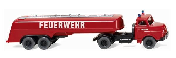 Wiking 086142 - Feuerwehr - Großtanklöschfahrzeug (MAN) - 1:87
