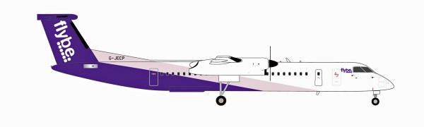 Herpa Wings 559829 - Flybe Bombardier Q400 - new colors - G-JECP - 1:200