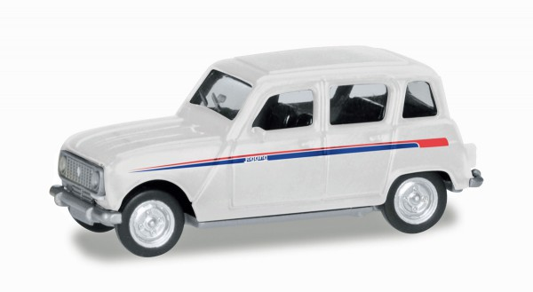 "Herpa 030199 - Renault R4 ""Jogging"", Streifen rot/blau - 1:87"